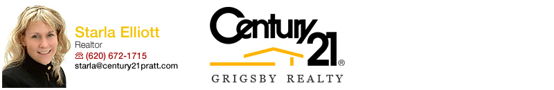 Starla Elliot, Century 21 Grigsby Reality, Pratt, Kansas